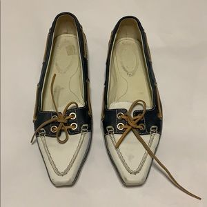 Tod's pointed shoes mules slip ons size 8